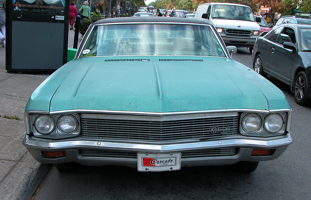 Cars in Montreal: Chevrolet