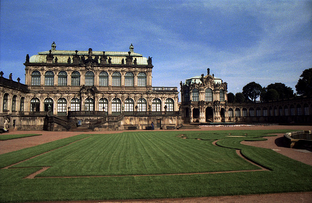 Old pictures of Dresden