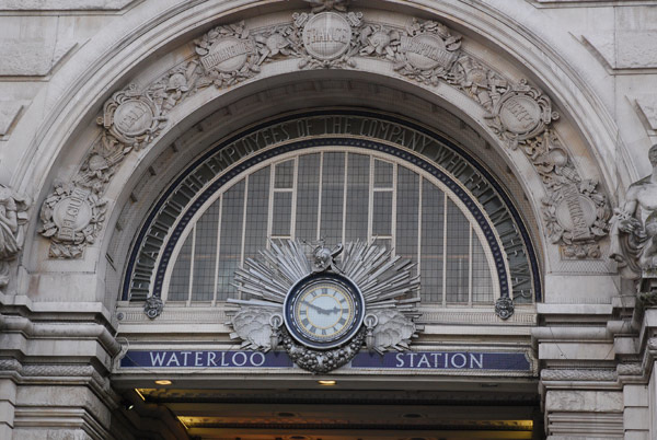 Waterloo Station entrance