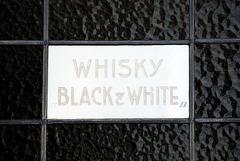 """Whisky """"Black & White"""""""