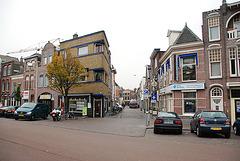 St. Aagten Street in Leiden (NL)