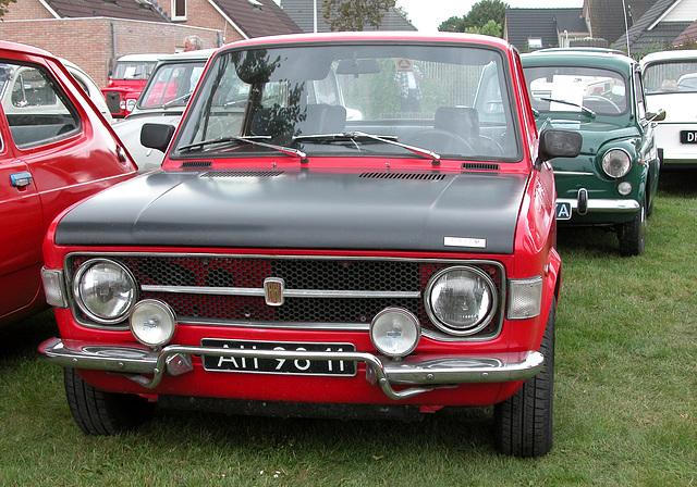Oldtimer day in Ruinerwold (NL): 1972 Fiat 128 Rallye