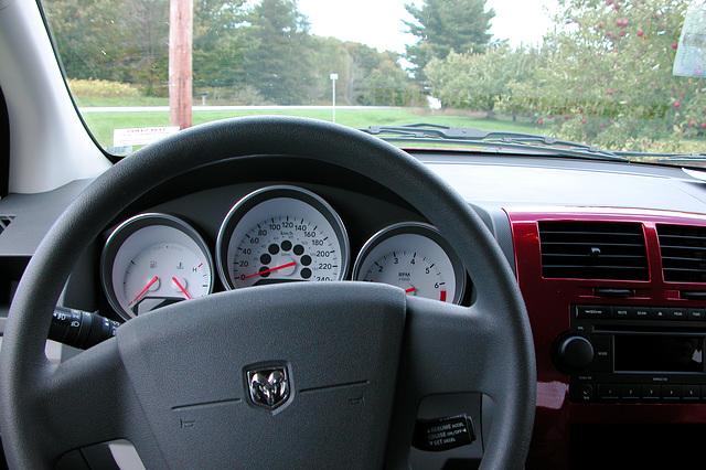 More Dodge Caliber – interior