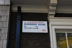 Bloomsbury Square WC1