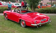 Oldtimer Day Ruinerwold: 1962 Mercedes-Benz 190 SL