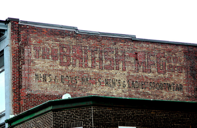 Faded wall ads of Montreal