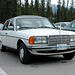 The Mercedes-Benz W123 in Canada: a 300D at Lake Louise