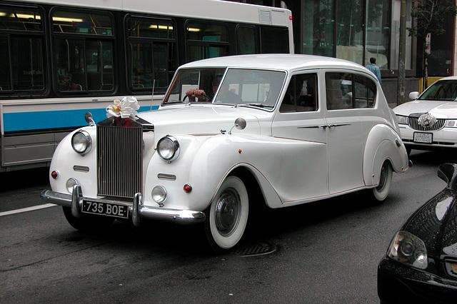 Cars in Montreal: Wedding Austin Princess