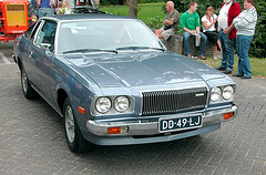 Oldtimer day in Ruinerwold (NL): Mazda with rotary engine