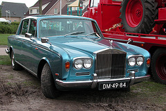 Oldtimer day in Ruinerwold (NL): 1970 Rolls Royce Silver Shadow