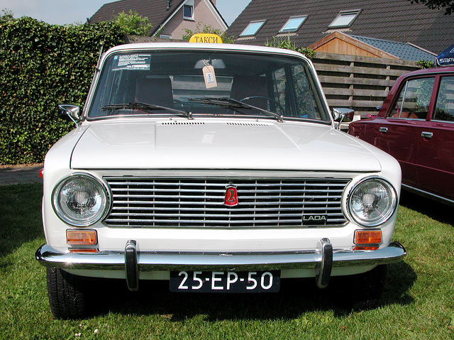 Oldtimer day in Ruinerwold (NL): 1975 Lada 1200 Stationcar