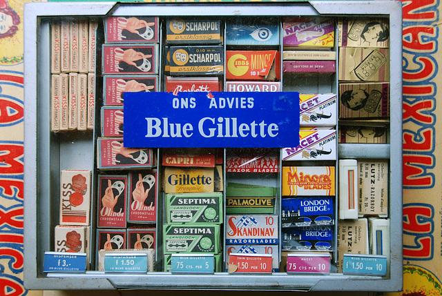 Our advice: Blue Gillette