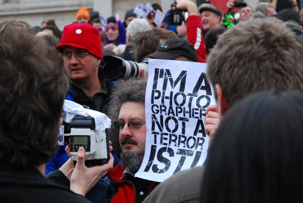 I'm a photographer not a terrorist