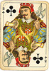 Dutch playing cards from 1920-1927: Jack of Clubs