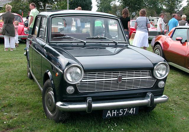 Oldtimer day in Ruinerwold (NL): 1969 Fiat 1100 R