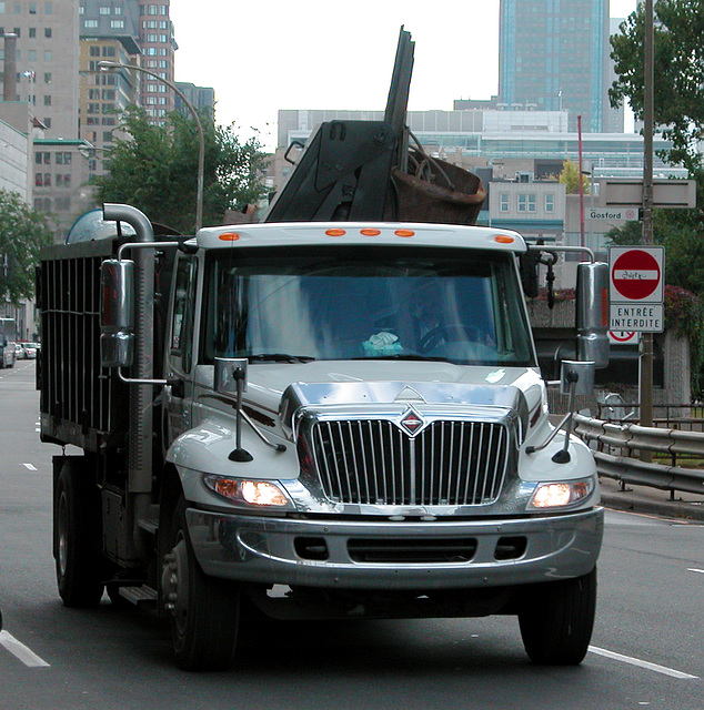 Trucks in Montreal