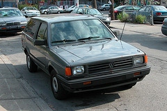 Cars in Montreal: Volkswagen Fox