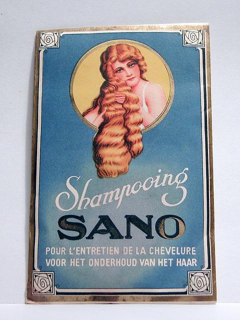 Old products: SANO shampoo