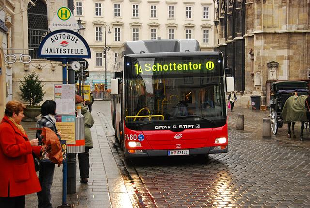 Gräf & Stift Bus in Vienna