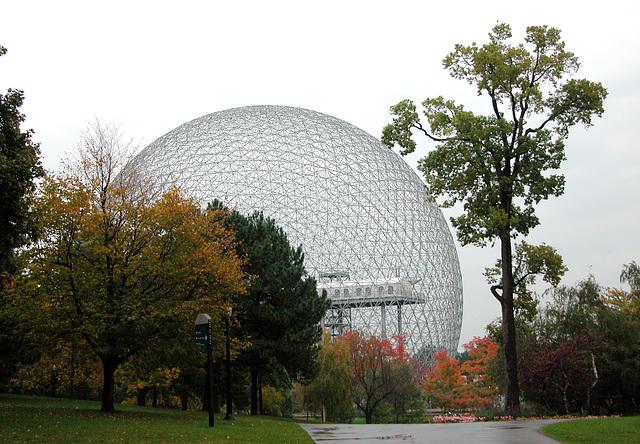 Montreal images: Biosphere on St. Helene Island