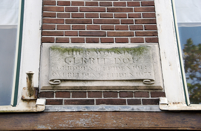 Gerrit Dou lived here