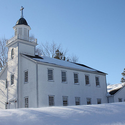 New England Winter Scene