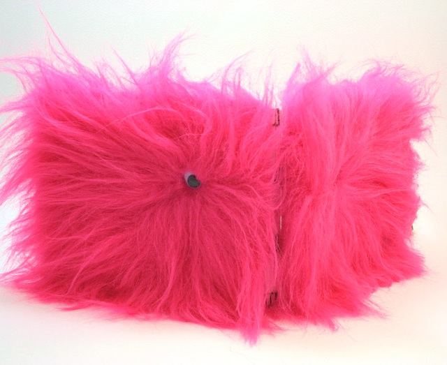 New Monster Book in Hot Pink