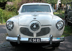 Oldtimer day in Ruinerwold (NL): 1951 Studebaker Champion 109 W5