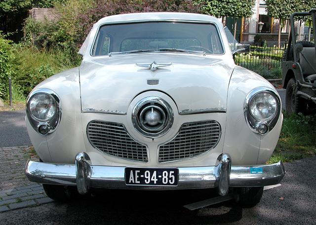 Oldtimer day in Ruinerwold (NL): 1951 Studebaker Champion 109 W5