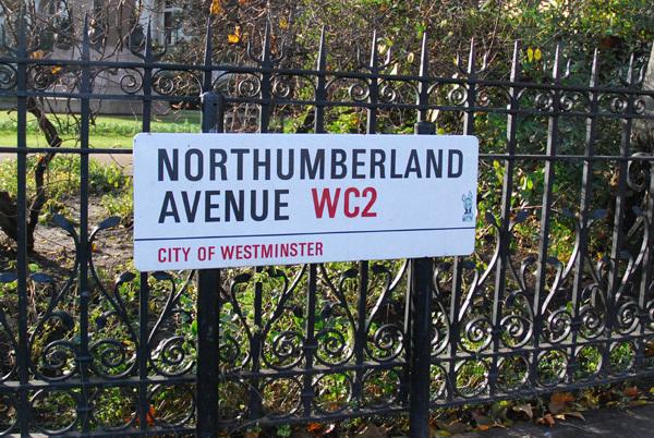 Northumberland Avenue WC2