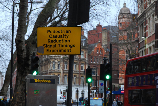 Pedestrian Casualty Reduction Signal Timings Experiment