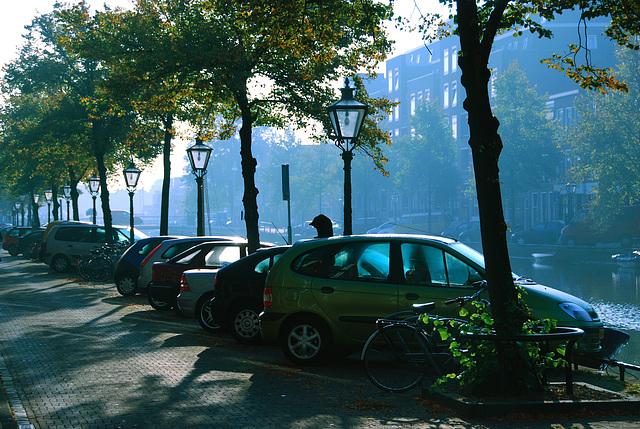 Leiden in the morning
