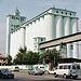 Kiev: a nice grain elevator along Naberezhno-Khreschatyts'ka
