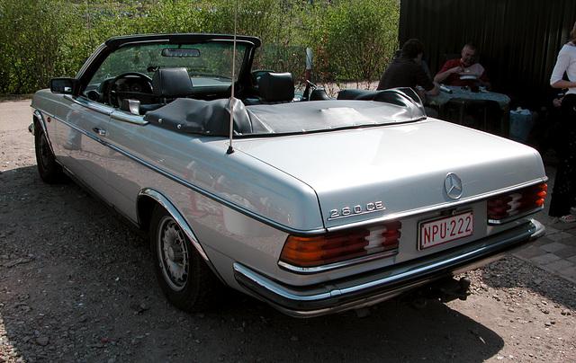 A very rare Mercedes-Benz W123 cabriolet