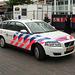 2007 Volvo V50 police car