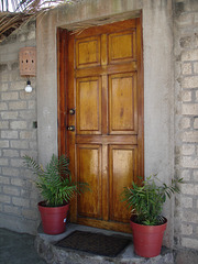 Porte mexicaine / Puerta mexicana / Mexican door.