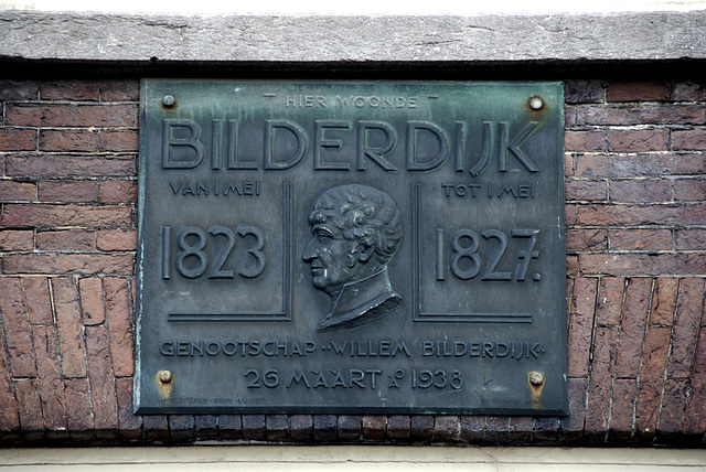 Willem Bilderdijk lived here