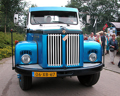 Oldtimer day in Ruinerwold (NL): 1980 Scania L11142S