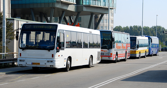 Buses at The Hague Central Station
