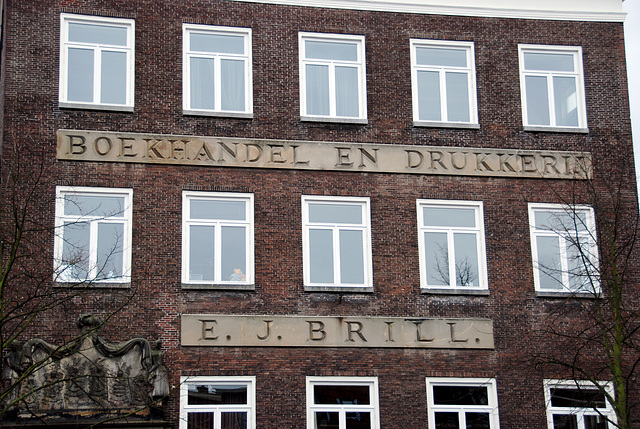 Former buildings of printers in Leiden