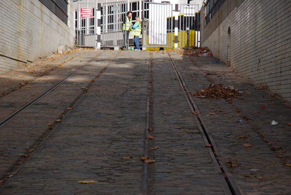 Entrance to Kingsway tram tunnel