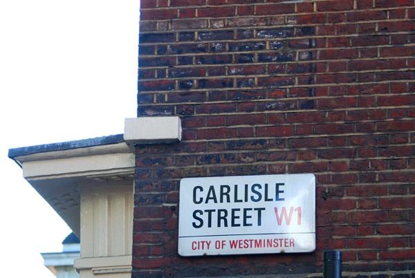 Carlisle Street W1