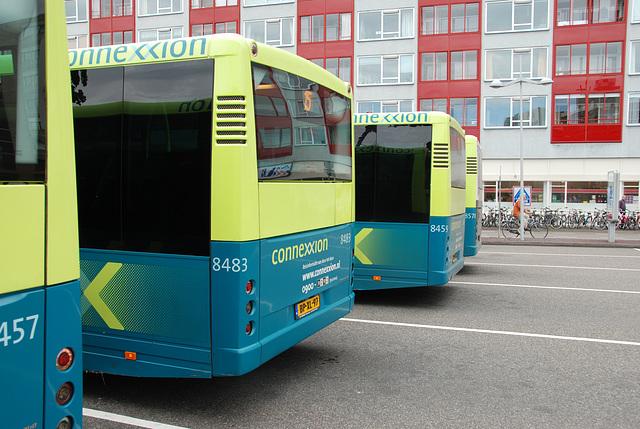 Buses at Leiden Central Station