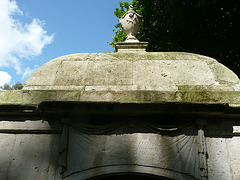 mausoleum in st.george's churchyard, london