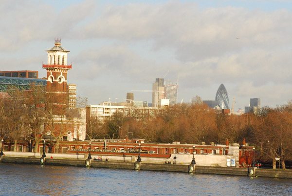 South from Lambeth Bridge
