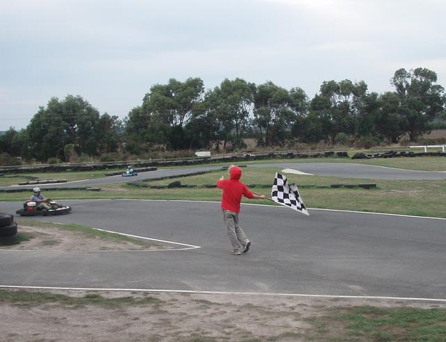 go karting at Stony Creek