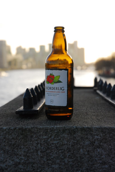 Cider on the bridge