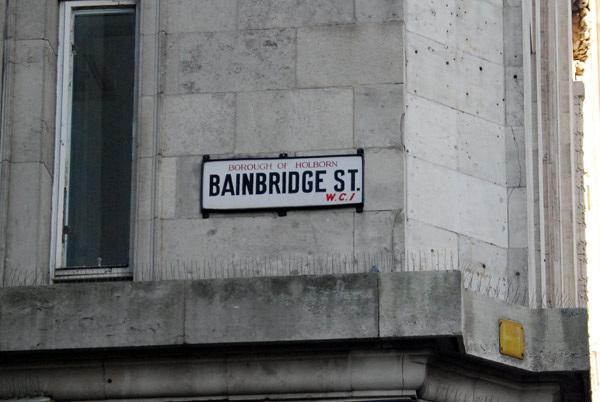 Bainbridge St WC1