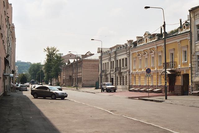 Kiev: street in the Podil area