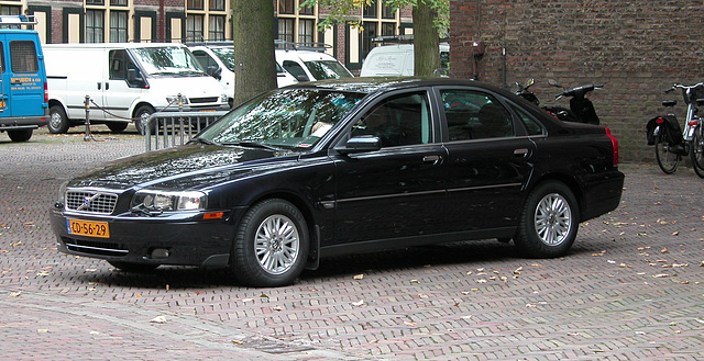 Official cars in the Hague: diplomat's Volvo